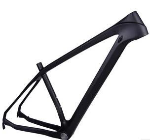 29 26 Inch Hardtail Carbon Mountain Bike Frame , Race Hard Tail Carbon Fiber Full Suspension Mountain Bike Frame