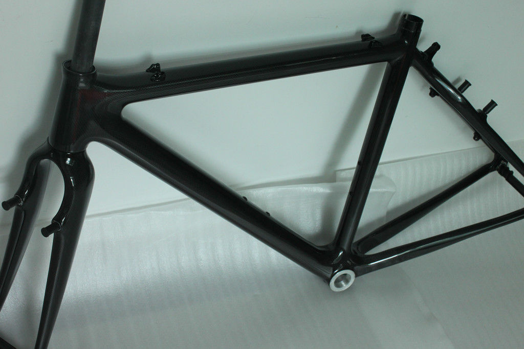 Caliper Brake	Carbon Cyclocross Frameset Time Trial Quick Release Durable