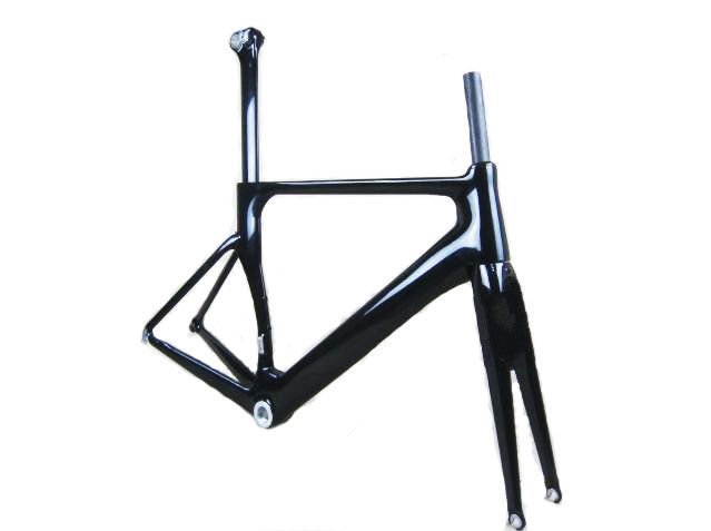 Full Carbon Road Bike Frame , Mountain Bike Frame And Fork Hidden Cable Design Aero OEM