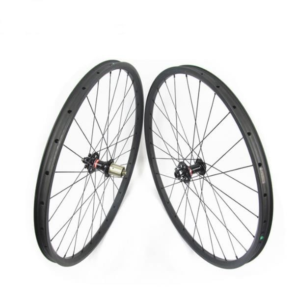 27.5 Inch 29 Inch 26 Inch Carbon MTB Wheels / Rims Red White Black Color Optional