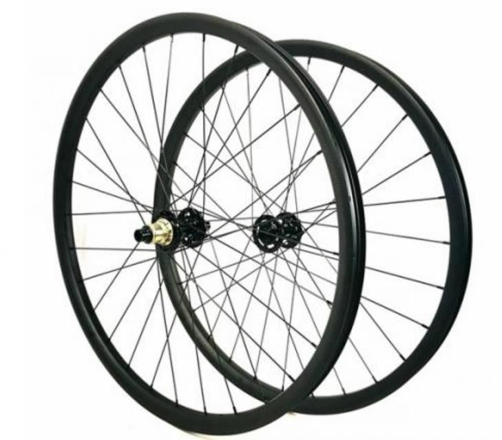 22mm Tubeless Carbon Mountain Bike Wheels 29 Inch MTB / Road Supply Long Lifespan